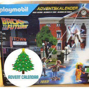 PLaymobil Advent calendar Back to the futur Edition
